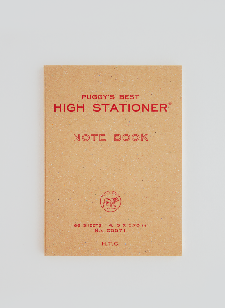 PUGGY'S Notebook Red