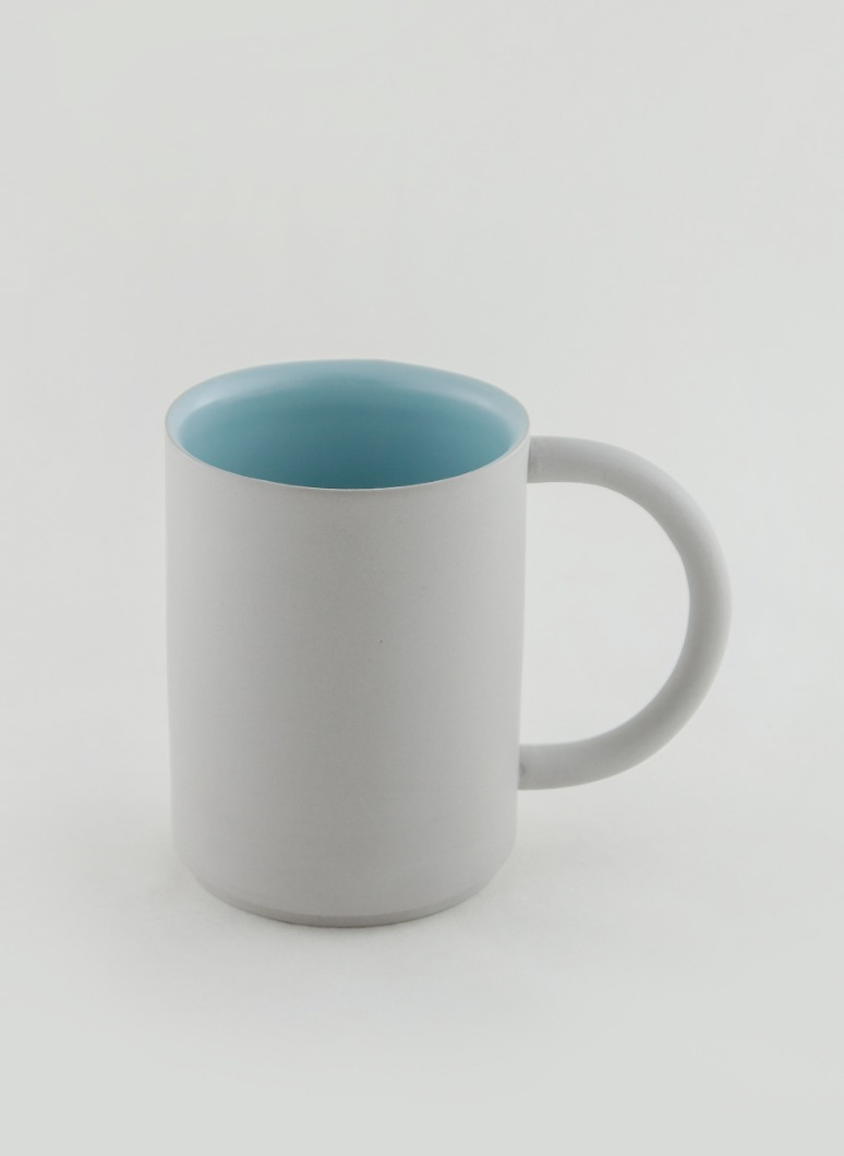 al_Ceramic Artline Mug Grey