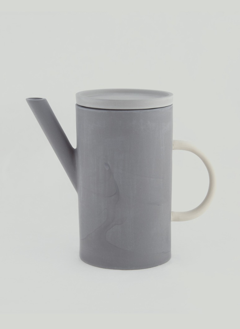 al_Ceramic Artline Pot Grey
