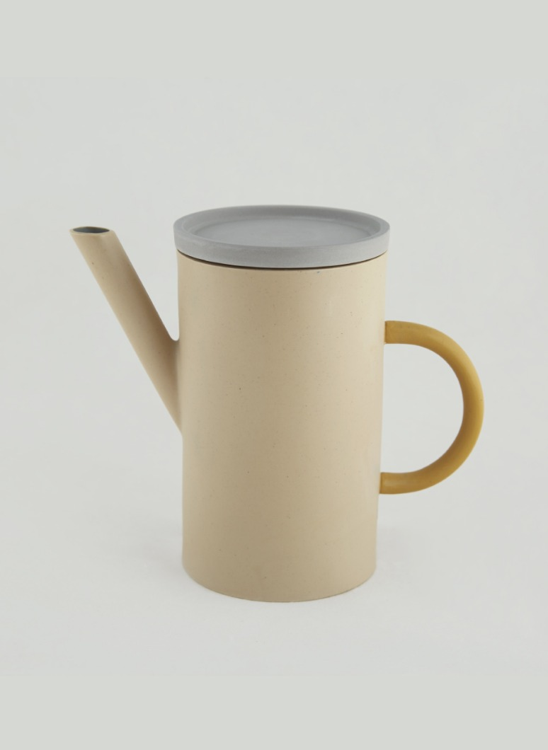 al_Ceramic Artline Pot Ivory