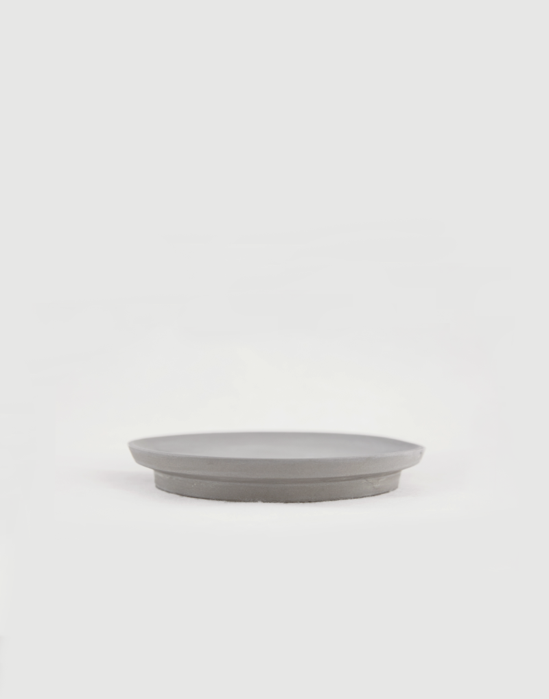al_Ceramic Artline Plate [Grey]